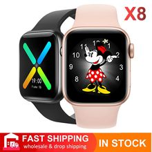 IWO 13 Serie 6 X8 Smartwatch Original Bluetooth llamada inteligente reloj corazón tasa impermeable Fitness Trackert PK T500 X7 W26 IWO 12