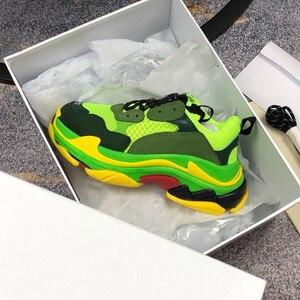 Image 3 - Chaussures de course pour hommes et femmes, chaussures de sport respirantes, athlétiques de marque à la mode, unisexes, couleurs mélangées, collection espadrilles décontractées