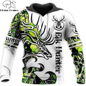 Tatoo Deer Camo 3D Printed Men Hoodie Harajuku Fashion Hooded Sweatshirt Unisex Casual Jacket Pullover sudadera hombre DW096 men camo print hooded jacket