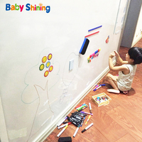 Baby Shining Baby Drawing Magnetic Whiteboard Toy Graffiti Educational Toys Whiteboard Paper Painting Kids Puzzle Drawing Toy
