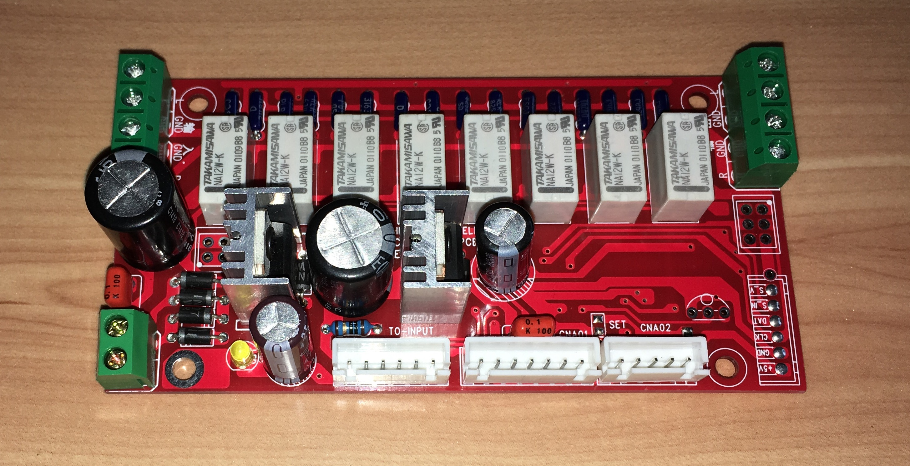Relay Volume Panel HIFI Volume Controller Remote Volume Panel With Display Balance Volume