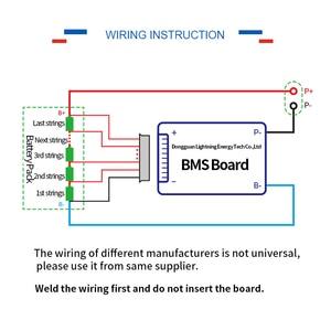 Image 4 - 3.2 v スマート LiFePo4 8 s bms 24 バッテリ管理システム保護 pcb ボードのための e スクーター e バイク未 3.7 v リチウムイオン電池