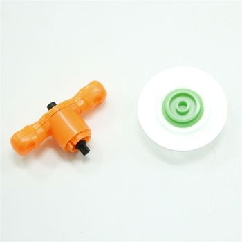 Mini Alloy Battle Spinning Tops With Launchers Blades Toy Gadget Kids Toy Gift image