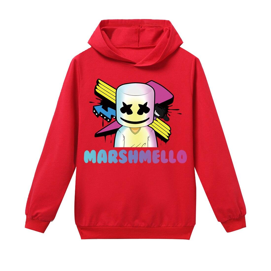Każdego dnia nowy przyjazd! Marshmello muzyka dj dziecięca bluza z kapturem duża dziecięca H929