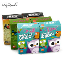 Free Shipping Waterproof Breathable LOT of 6 Boxes 120 pcs Cartoon Band Aid Adhesive Bandages Plasters Kids Mixed Type