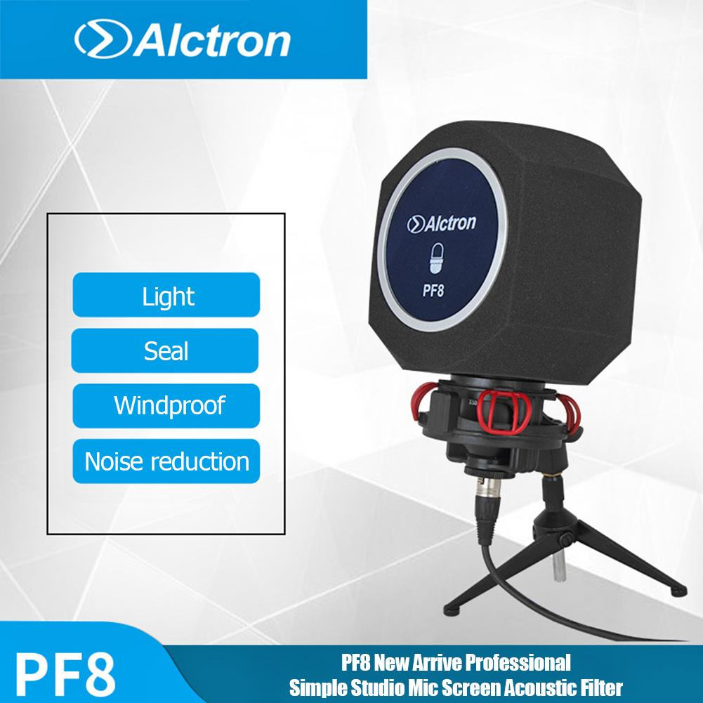 Original Alctron PF8 New Professional Simple Studio Mic Screen Acoustic Filter Desktop Recording Mic