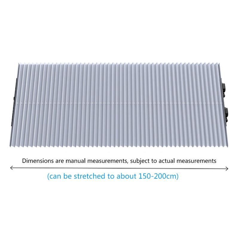Universal Car Retractable Foldable Sun Shield Windshield Sunshade Cover Shield Curtain Auto Sun Shade Block Car Window Shade 2