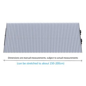 Universal Car Retractable Foldable Sun Shield Windshield Sunshade Cover Shield Curtain Auto Sun Shade Block Car Window Shade 7