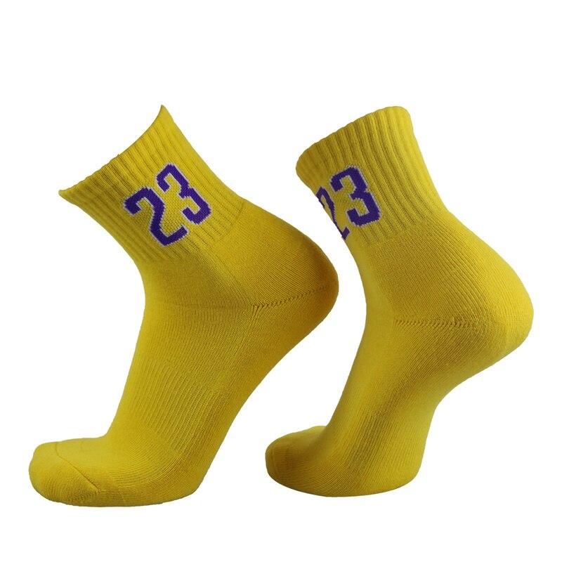 Профессиональные супер звезды баскетбольные носки Элитные толстые спортивные носки нескользящие прочные носки для скейтборда