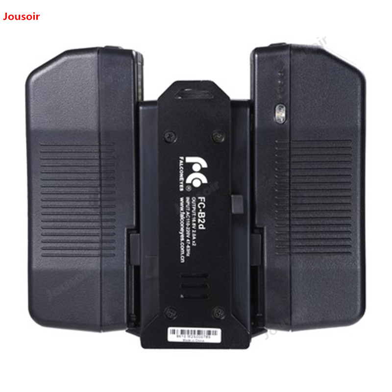 Falconeyes V port lithium battery charger two electric double charge V type lithium battery charger FC B2d CD50 T03 - 3
