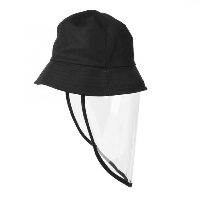 Protective Sunproof Fisherman's  Hats with Anti-Saliva Transparent Face Shield Protection Equipment Hot Sale 1
