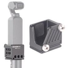 "OSMO คู่มือฐานอะแดปเตอร์อุปกรณ์เสริมสำหรับ DJI ที่อยู่อาศัยกระเป๋าขาตั้งกล้อง Selfie Stick Holder Extension กรง 1/4 ""Arca  swiss RRS"