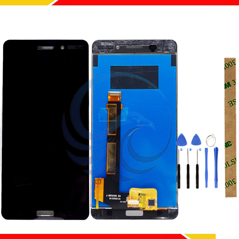 LCD Display For Nokia 6 TA-1021 LCD Display Digitizer Touch Panel Screen Assembly LCD For Nokia 6 TA-1033 TA-1025 Display LCD
