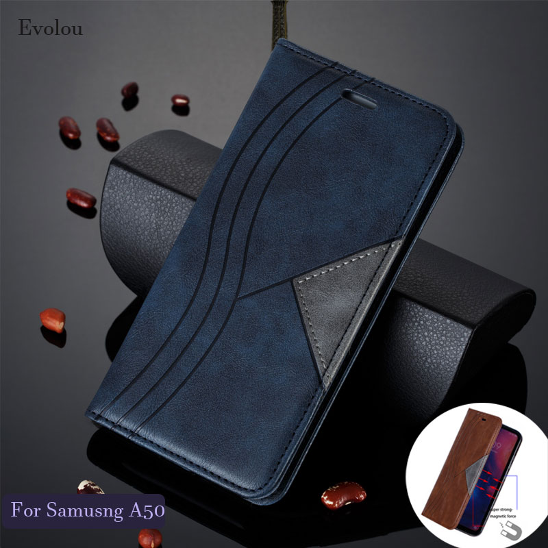 For <font><b>Samsung</b></font> Note 10 9 A50 A750 S10 Plus M10 A202 Retro <font><b>Flip</b></font> Book <font><b>Leather</b></font> Cover for <font><b>Samsung</b></font> a50s A30 <font><b>S7</b></font> Edge Magnetic <font><b>Flip</b></font> <font><b>Case</b></font> image
