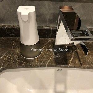Image 5 - 0,25 s высокочувствительный сенсорный USB Перезаряжаемый автоматический дозатор пенного мыла IPX4 Водонепроницаемый 350 мл Ручная стирка для кухни ванной комнаты