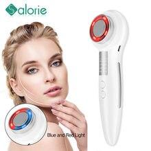 Machine de beauté faciale RF, Lifting de la peau du visage, des yeux, dispositif de Massage par Vibration, outil de nettoyage de thérapie de rajeunissement par photons