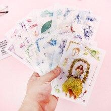Креативная 12 Созвездие ручка клейкая бумага милый мультфильм 6 каждый набор Тан ГУ Фэн свежая Акварельная КПК наклейка живопись