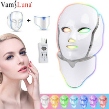 Spa-Instrument Rejuvenation Facial-Mask Skin Face-Neck Led Beauty Korean Tighten 7-Colors