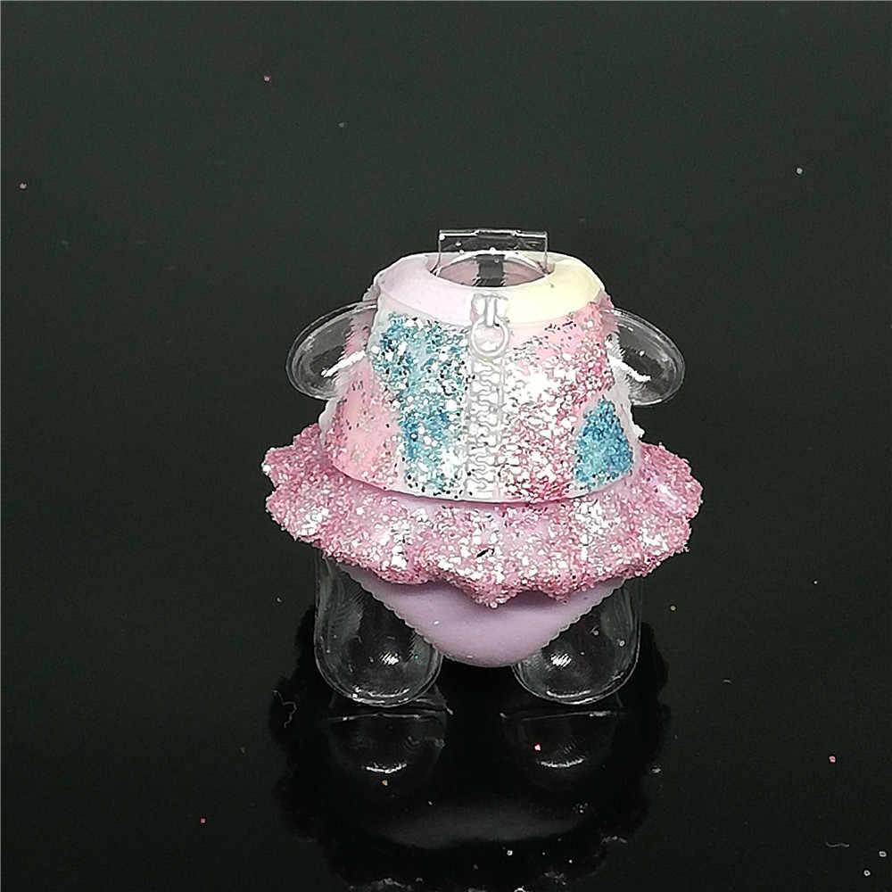 1 قطعة الأصلي LOLs مفاجأة الزي الملابس فستان ل يونيكورن دمية 8 سنتيمتر إكسسوارات دمي شقيقة طفل الفتيات طفل هدية الشكل لعبة