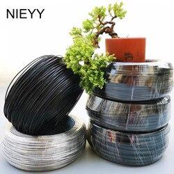 1mm-8mm Ferramentas de Jardinagem Bonsai Material de Modelagem de Metal Fio De Alumínio Fio de Alumínio Fio de Alumínio em Forma De Vaso de Bonsai 500G/Rol