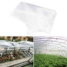 Plant PE Warm Film Resistant Greenhouse Transparent Plastic Dustproof Sealing Antifreeze Cover Garden Supplies
