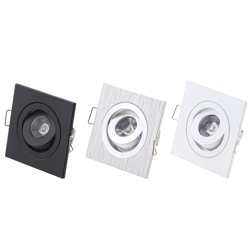 Шкаф фойе гостиная утопленный миниатюрный Точечный светильник маленький мини COB квадратный Диммируемый светодиодный светильник 3W
