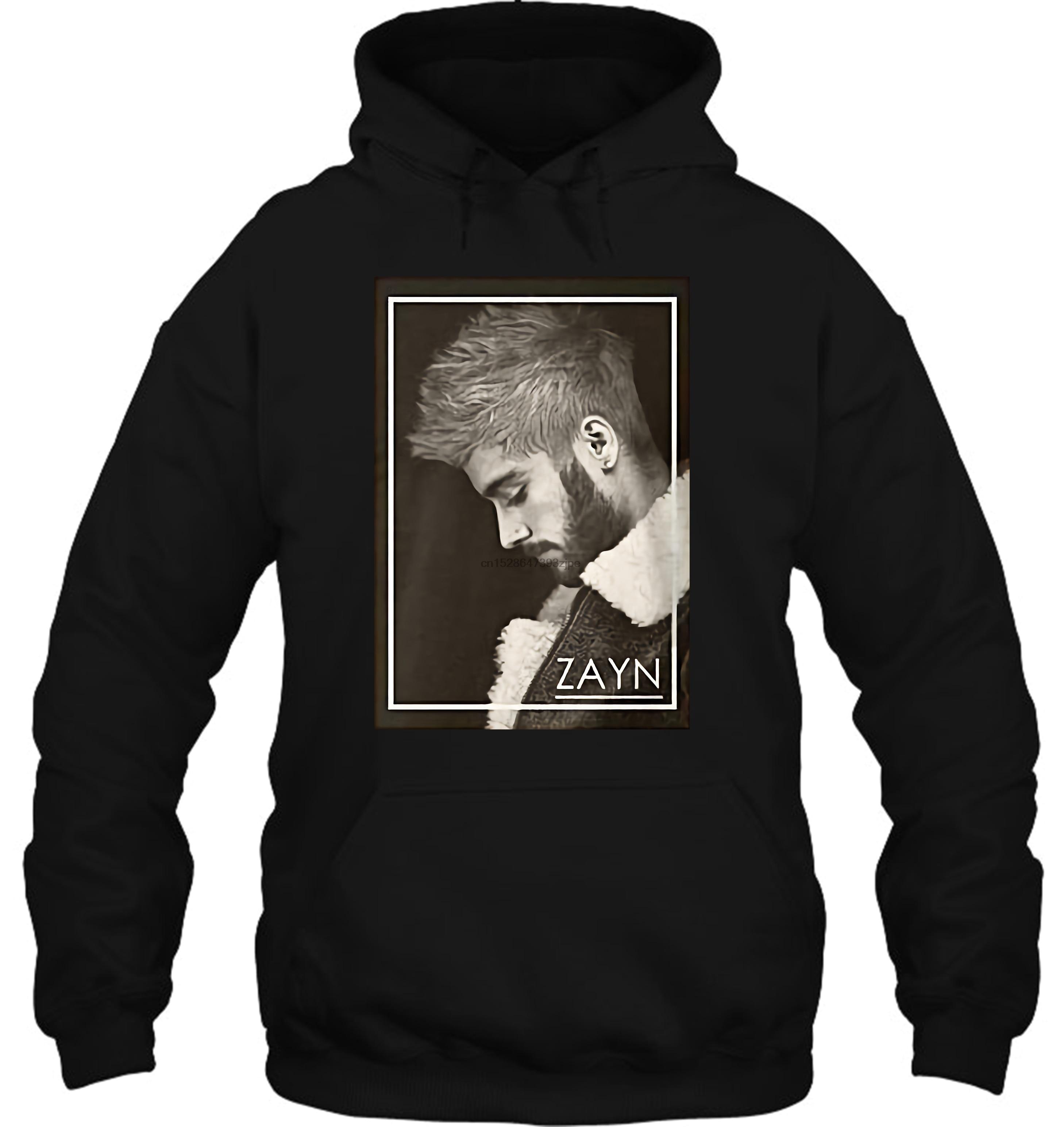 Hot Sale Fashion Crew Neck Novelty Zayn Malik Music Men Women Streetwear Hoodies Sweatshirts