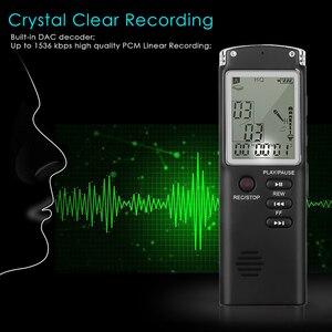 Image 5 - Профессиональный диктофон 8 ГБ, USB, 96 часов, диктофон, цифровой Аудио Диктофон с WAV mp3 плеером, записывающая ручка