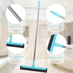 Ściągaczki podłogowe z regulacją 180 stopni 35.4 Cal długa rączka do mycia i suszenia płytek szklanych marmuru i powierzchni drewnianych nowość
