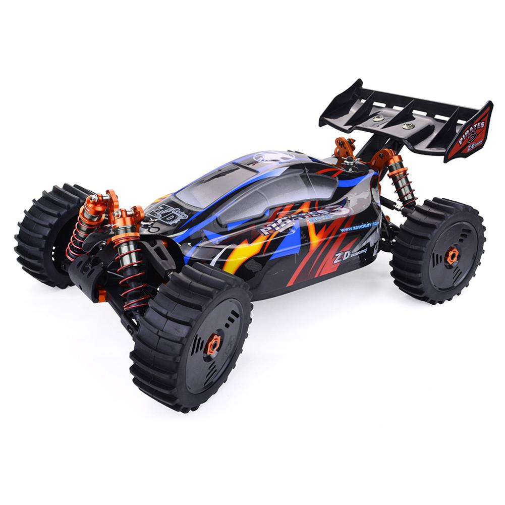 RCtown ZD Racing Pirates3 BX-8E 1:8 Scale 4WD Brushless electric Buggy Remote...