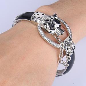 Image 3 - Tuliper браслет pantera bransoletka dla kobiet Leopard bransoletki браслеты женские zwierząt kryształ Party biżuteria prezent 팔찌 koreański indyjski