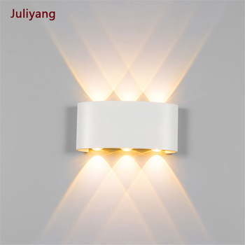 LED outdoor waterproof arched simple villa hotel indoor living room corridor bedroom bedside sconce AC90V-260V