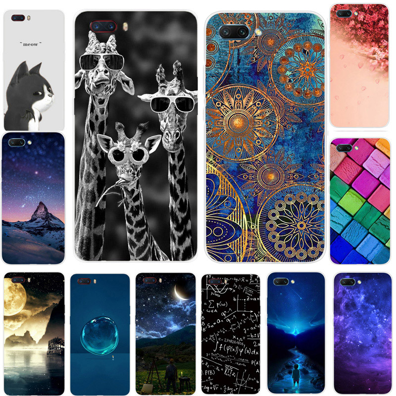 TPU Protector Case For ZTE Nubia M2 Cover Soft Silicon Back Phone Cover For ZTE Nubia M2 NX551J M2 Cases Cartoon Painted Funda(China)