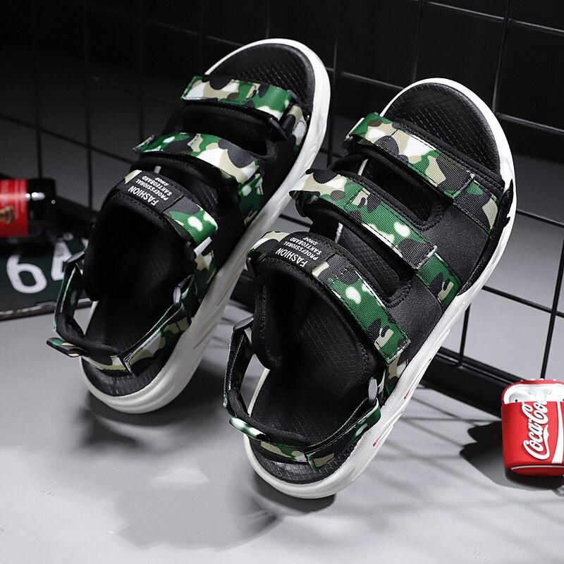 Light Hook Loop Casual Slippers Shoes