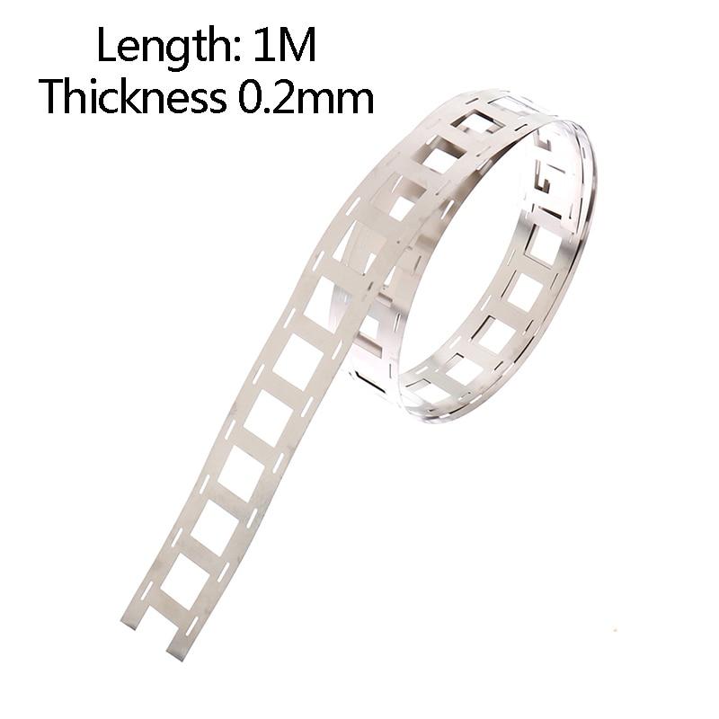 Pure Nickel Strip Nickel Tab For Lithium Battery Welding Tape 2P Spot Welding Nickel Belt