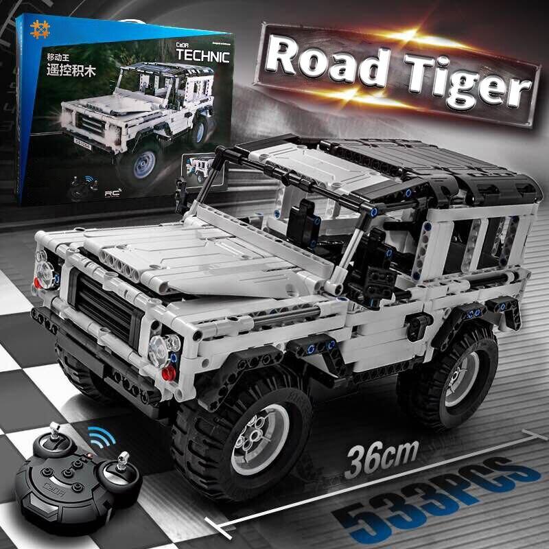 Oyuncaklar ve Hobi Ürünleri'ten Bloklar'de 553 adet teknİk serisi Defender SUV RC araba modeli yapı taşı DIY Off Road araba tuğla oyuncaklar çocuklar için uyumlu LegoED'da  Grup 1