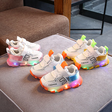 Fashion Children's Shoes 2020 New Glowing Sneakers Kids Ligh