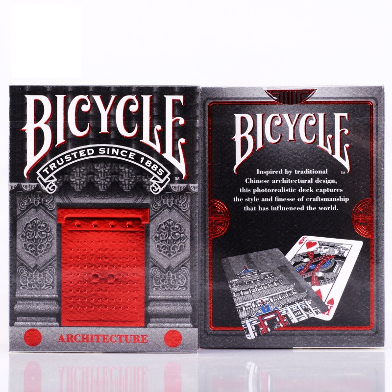 bicycle-architecture-playing-cards-font-b-poker-b-font-size-uspcc-collectible-deck-magic-card-games-magic-tricks-props-for-magician