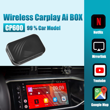 Reproductor Multimedia para coche CP600, sistema Android para conectar y listo, Mirror Link, inalámbrico, Carplay, para Apple Carplay caja AI