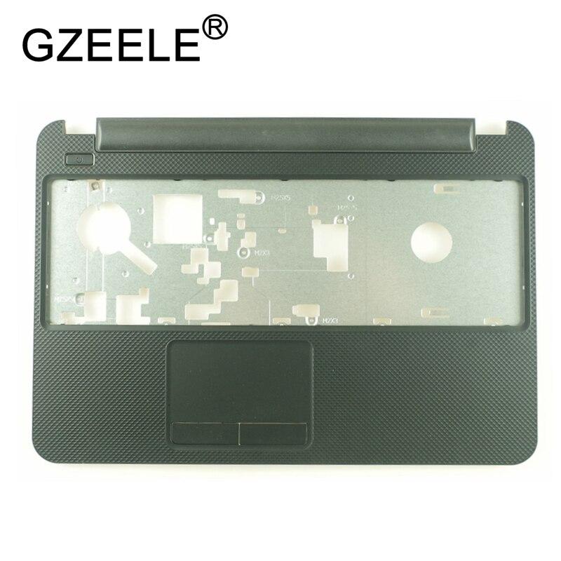 New For DELL For Inspiron 15R 3521 2521 3537 3521 5521 5537 Laptop Palmrest Upper Case Cover Keyboard Bezel Topcase Black