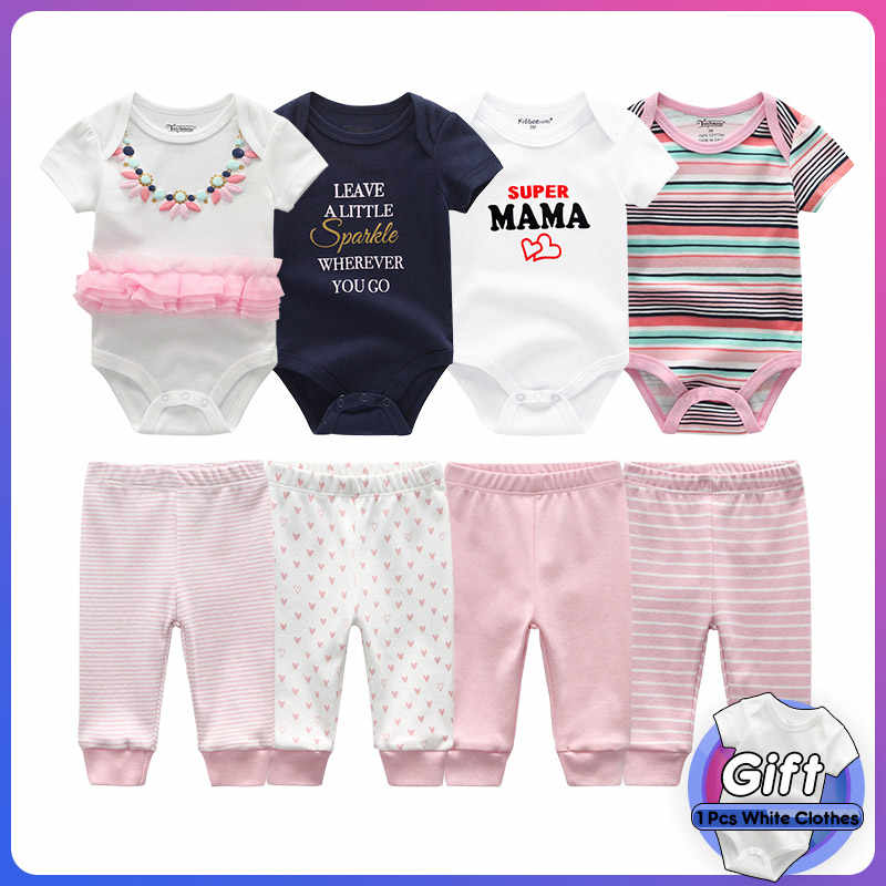 baby body girl clothes sets short sleeve newborn boy jumpsuit long pants tiny cottons 2019 baby girl bodysuit onesie