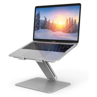 Laptop Stand Height Adjustable Desktop Sofa Bed Laptop/Tablet Stand Aluminum Free Lift Notebook Heighten Holder for MacBook Pro