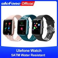 Ulefone Uhr Smartwatch 5ATM Wasserdicht Band Herz Rate Schlaf Überwachung Für Android IOS