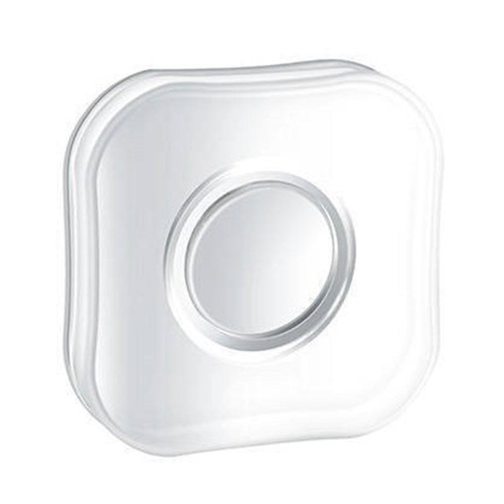 Универсальные Волшебные нано-наклейки без следа, волшебные нано-наклейки на каждый день, резиновые накладки, наклейки на стену для кухни, автомобильный держатель для телефона, гелевая паста - Цвет: square