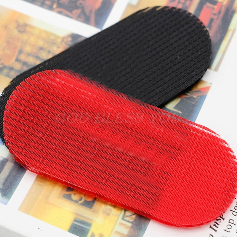 2Pcs Unisex Hair Gripper Holder Fixed Fringe Stickers Makeup Tools Salon Barber Hairdressing Pad Styling Sectioning Clip