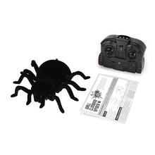 Infrarood Afstandsbediening Muur Klimmen Realistische Spider Rc Prank Insect Joke Eng Truc Speelgoed Halloween Party Rc Spider Speelgoed Gift(China)