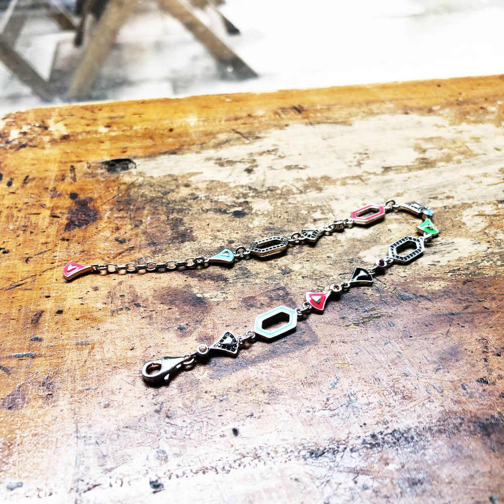 הדרקון לילה קישור צמידים, 2019 תומאס החדש 925 כסף סטרלינג תכשיטים Ethno מתנת Fit Ts חרוזים עבור נשים בנות
