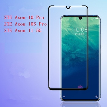 Перейти на Алиэкспресс и купить Защитная пленка для экрана для ZTE Axon 10 10S Pro 5G 11 закаленное стекло 3D переднее закаленное стекло