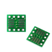 Lead-free so/msop/tssop/soic/sop8 to dip8 wide body narrow body adapter board PCB 8pin