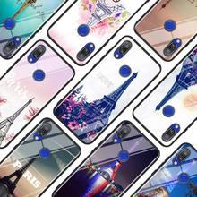 Paris Eiffel Tower Travel for Xiaomi Redmi Note 8 7 6 5 4X 4 K20 Pro 7A 6A 6 S2 5A Plus Super Bright Black Phone Case naruto kakashi cartoon role for xiaomi redmi note 8 7 6 5 4x 4 k20 pro 7a 6a 6 s2 5a plus super bright black phone case